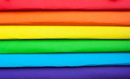 Το σύμβολο LGBT ουράνιο τόξο χρωμάτων Στοκ εικόνες με δικαίωμα ελεύθερης χρήσης