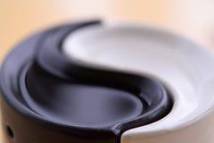 Το σύμβολο yin-Yang Στοκ εικόνες με δικαίωμα ελεύθερης χρήσης