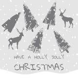 Το σύνθημα έχει ένα υπόβαθρο Χριστουγέννων Χριστουγέννων ελαιόπρινου ευχάριστα Στοκ φωτογραφία με δικαίωμα ελεύθερης χρήσης