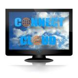 το σύννεφο συνδέει Στοκ Φωτογραφίες