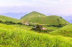 Βουνό Wugongshan στοκ φωτογραφία με δικαίωμα ελεύθερης χρήσης