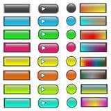 Κουμπιά 3 Στοκ φωτογραφία με δικαίωμα ελεύθερης χρήσης