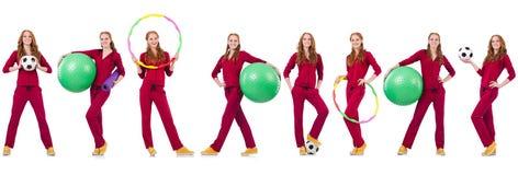 Το σύνολο πρότυπων φωτογραφιών στην έννοια υγείας Στοκ Φωτογραφίες