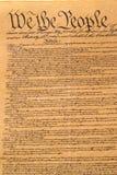 το σύνταγμα δηλώνει ενωμέν&o Στοκ Εικόνες