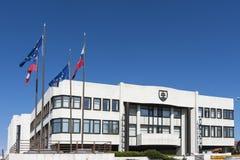 Το σλοβάκικο παλάτι του Κοινοβουλίου στη Μπρατισλάβα Στοκ φωτογραφία με δικαίωμα ελεύθερης χρήσης
