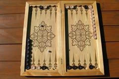 Το τάβλι είναι ένα άλλο αρχαίο παιχνίδι Στοκ εικόνες με δικαίωμα ελεύθερης χρήσης