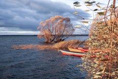 Το τέλος μιας εποχής αλιείας Στοκ Φωτογραφίες