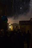 Το τέλος του φεστιβάλ Στοκ εικόνα με δικαίωμα ελεύθερης χρήσης