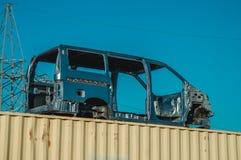 Το ταξινομημένο σώμα του αυτοκινήτου στοκ εικόνα με δικαίωμα ελεύθερης χρήσης