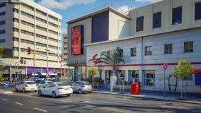 Το ταχυδρομείο και το σπίτι τρεις-ιστορίας καταστημάτων Castro Στοκ φωτογραφίες με δικαίωμα ελεύθερης χρήσης