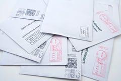 το ταχυδρομείο μας ταξινόμησε προ Στοκ Εικόνες