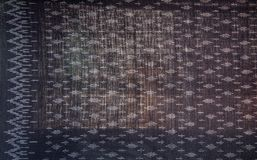 Το ταϊλανδικό ύφασμα μεταξιού σχεδίων μεταξιού άνευ ραφής πλέκει το υπόβαθρο σύστασης σχεδίων Στοκ φωτογραφίες με δικαίωμα ελεύθερης χρήσης