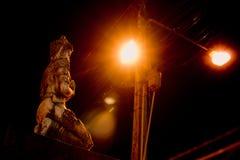 Το ταϊλανδικό άγαλμα αγγέλου Στοκ εικόνες με δικαίωμα ελεύθερης χρήσης