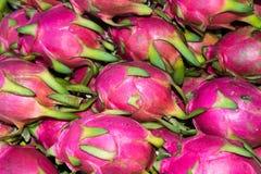 Το ταϊλανδικό όνομα φρούτων είναι σφαίρα δράκων Στοκ Εικόνες