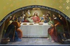Το τελευταίο βραδυνό - Χριστός διαρκεί το βραδυνό Στοκ εικόνα με δικαίωμα ελεύθερης χρήσης