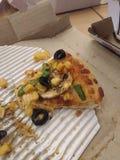Το τελευταίο κομμάτι της πίτσας στοκ εικόνες με δικαίωμα ελεύθερης χρήσης