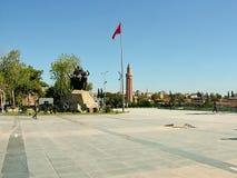 Το τετράγωνο Δημοκρατίας σε Antalya στην Τουρκία Στοκ φωτογραφίες με δικαίωμα ελεύθερης χρήσης