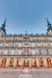 Το τετράγωνο δημάρχου Plaza στη Μαδρίτη, Ισπανία Στοκ Φωτογραφίες