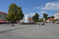 Το τετράγωνο της ελευθερίας στο tuzla πόλεων Στοκ εικόνα με δικαίωμα ελεύθερης χρήσης