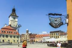 Το τετράγωνο του Συμβουλίου το καλοκαίρι στοκ εικόνα με δικαίωμα ελεύθερης χρήσης