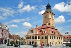 Το τετράγωνο του Συμβουλίου - Brasov, Ρουμανία Στοκ φωτογραφίες με δικαίωμα ελεύθερης χρήσης