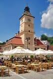 Το τετράγωνο του Συμβουλίου - Brasov, Ρουμανία Στοκ Εικόνα