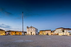 Το τετράγωνο Palmanova, ενετικό φρούριο σε Friuli Venezia Giu Στοκ εικόνες με δικαίωμα ελεύθερης χρήσης