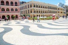 Το τετράγωνο Senado ή τετράγωνο Συγκλήτου Στοκ Φωτογραφία