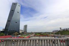 Το τετράγωνο shiminguangchang της νέας πόλης jimei Στοκ Εικόνες