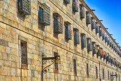 Το τετραγωνικό Obradoiro, Σαντιάγο de Compostela Στοκ Εικόνες