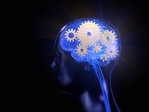Το τεχνικό μυαλό Στοκ φωτογραφία με δικαίωμα ελεύθερης χρήσης