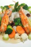 το τηγανισμένο noodles ρύζι ανακ&al Στοκ εικόνα με δικαίωμα ελεύθερης χρήσης