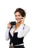 το τηλέφωνο ποτών κυττάρων &m Στοκ φωτογραφία με δικαίωμα ελεύθερης χρήσης