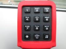 Το τηλεφωνικό αριθμητικό πληκτρολόγιο Στοκ Φωτογραφία