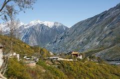 Το τοπίο η κομητεία Sichuan της επαρχίας, Κίνα Στοκ φωτογραφία με δικαίωμα ελεύθερης χρήσης