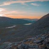 Το τοπίο Ουραλίων βουνά ural Τοπίο της Ρωσίας στοκ φωτογραφία