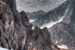 Το τοπίο Ουραλίων βουνά ural Τοπίο της Ρωσίας στοκ εικόνες