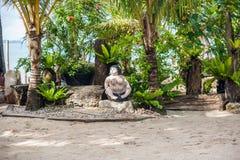 Το τοπίο στην παραλία, Boracay, Φιλιππίνες Στοκ Φωτογραφία