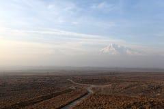 Το τοπίο Ararat τοποθετεί Στοκ Εικόνες