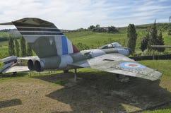 Το του δέλτα φτερό ενός ακοντίου Gloster Στοκ εικόνες με δικαίωμα ελεύθερης χρήσης