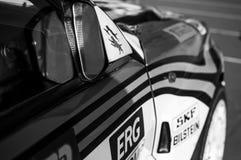 Το ΤΟΥ ΔΕΛΤΑ INT 16V το 1994 παλαιό αγωνιστικό αυτοκίνητο της LANCIA συναθροίζει το ΜΎΘΟ το 2017 ο διάσημος ΆΓΙΟΣ ΜΑΡΊΝΟΣ ιστορικ Στοκ εικόνες με δικαίωμα ελεύθερης χρήσης