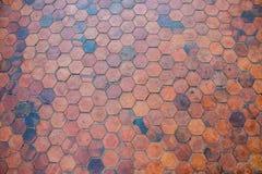 Το τούβλο πατωμάτων της σύστασης Στοκ εικόνα με δικαίωμα ελεύθερης χρήσης