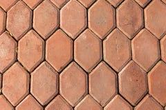 Το τούβλο πατωμάτων της σύστασης Στοκ Εικόνες