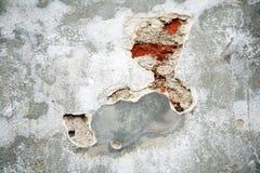 το τούβλο boo grunge κρυφοκοιτά&z Στοκ Φωτογραφία
