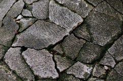 Το τούβλο έσπασε Στοκ Εικόνες