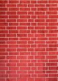 το τούβλο απομόνωσε το κόκκινο λευκό Στοκ Φωτογραφία