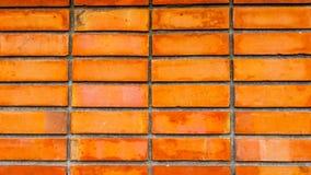 το τούβλο απομόνωσε το κόκκινο λευκό Στοκ Φωτογραφίες
