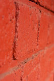 το τούβλο απομόνωσε το κόκκινο λευκό Στοκ εικόνα με δικαίωμα ελεύθερης χρήσης