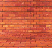 Το τούβλο εμποδίζει το υπόβαθρο Στοκ Εικόνα