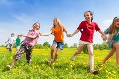 Το τρέξιμο είναι διασκέδαση Στοκ εικόνες με δικαίωμα ελεύθερης χρήσης